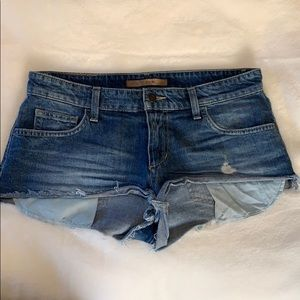 Joe's women's denim shorts